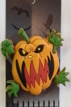 Screaming Pumpkin Magnet