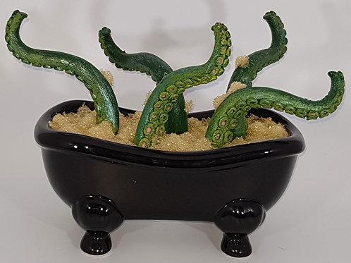 Bloomin' Horrors Bath Tub Black
