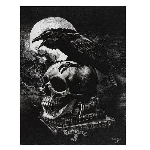 Alchemy Wall Plaque Poe's Raven Plaque