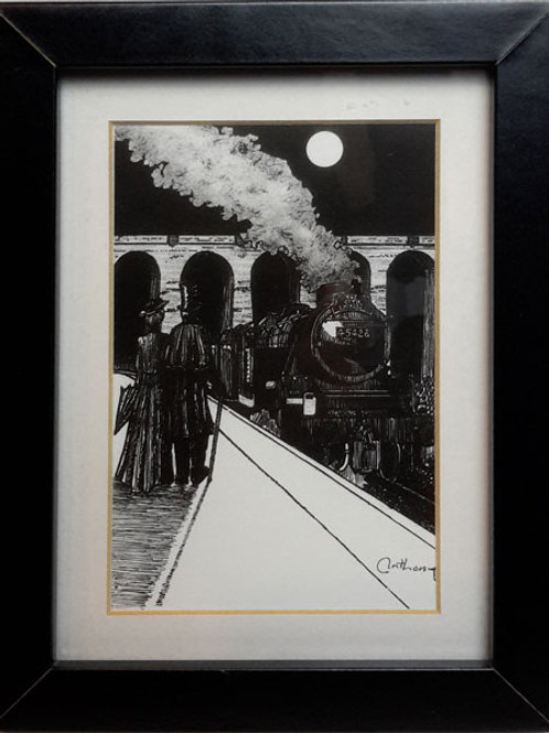 The Goth Express Print  Picture