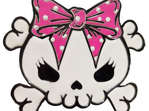 Cute Skull Belt Buckle