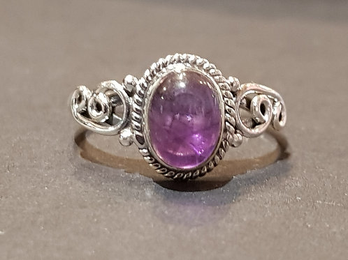 Amethyst Stoned Ring