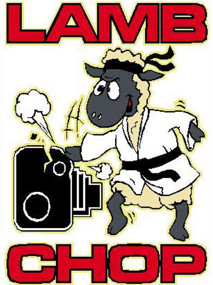 SH27 Lamb Chop Window Sticker