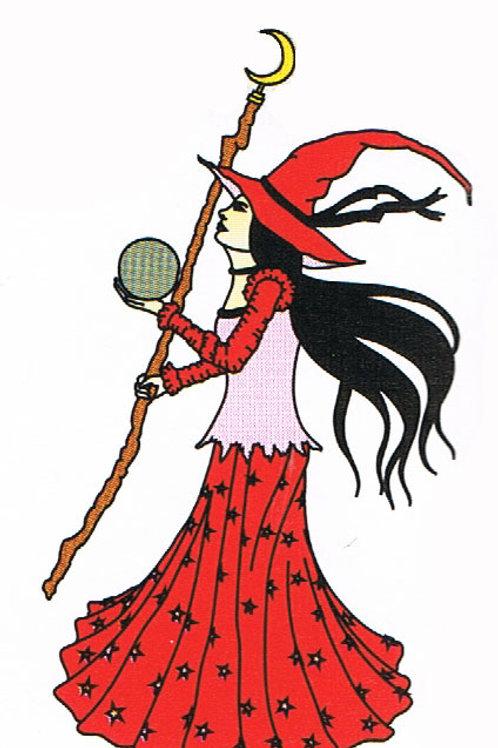 Sasha Fridge Magnet Red