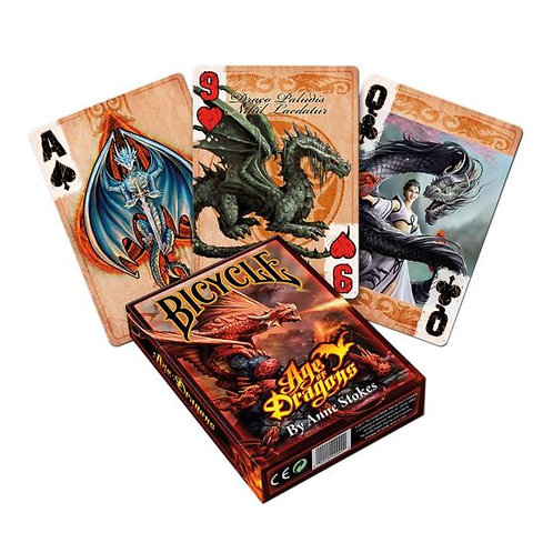 Anne Stokes Bicycle Age Of Dragons Playing Cards