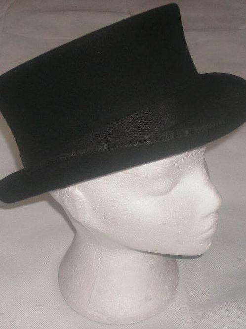 Black Top Hat, Wool Size 56