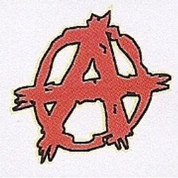 GCP34 Ararchy Window Sticker