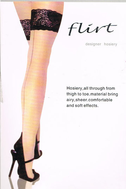 Flirt Lace Top Stockings