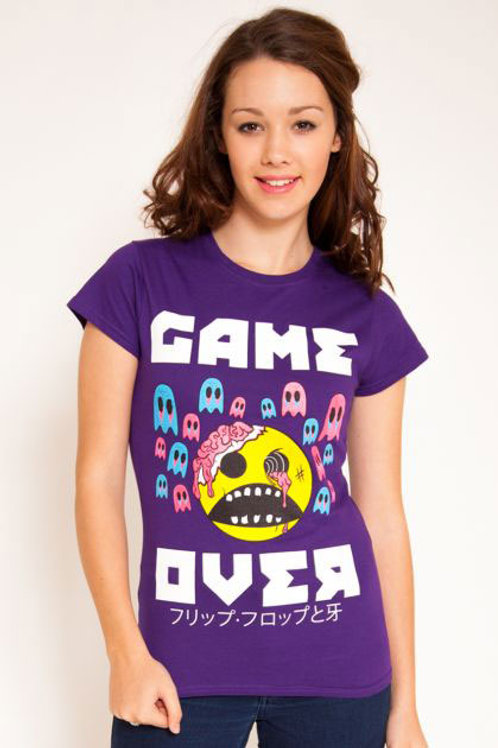 Game Over Ladies Tee (X Large)