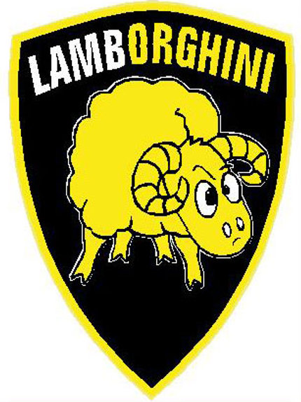 SH28 Lamborghini Window Sticker