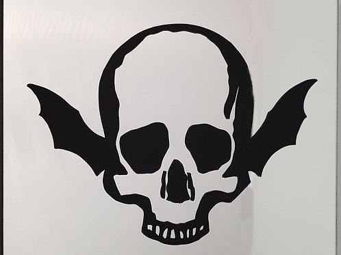 Mirror Wing Skull