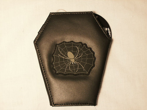 Spider Coffin Wallet