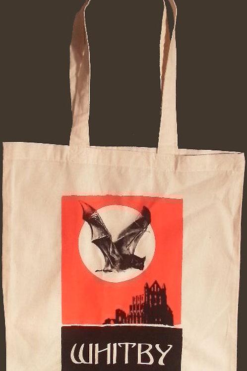 Whitby Tote Bag Abbey & Bat