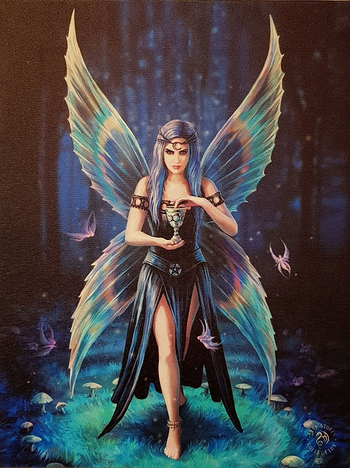 Anne Stokes Wall Plaque Enchantment