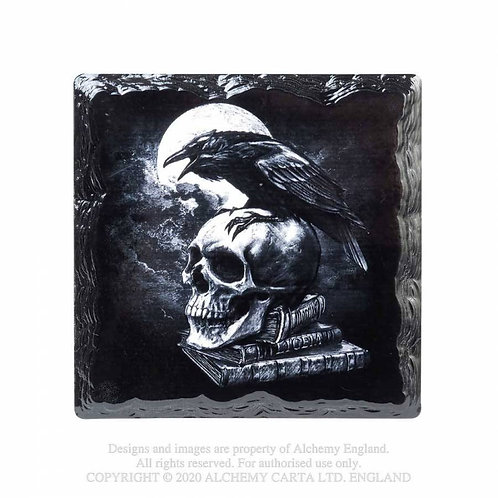 Poe's Raven Coaster