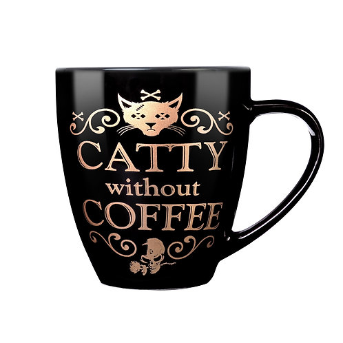 Catty Without Coffee Mug