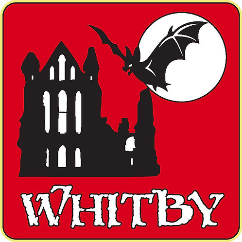 270 Whitby Window Sticker (Square)