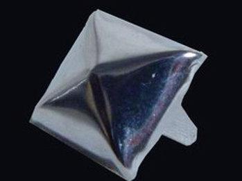 Pyramid  Stud Silver