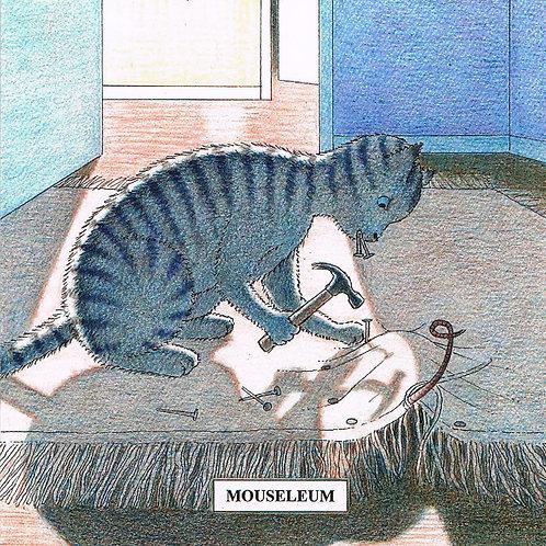 Devil Cat Greeting Card......Mouseleum
