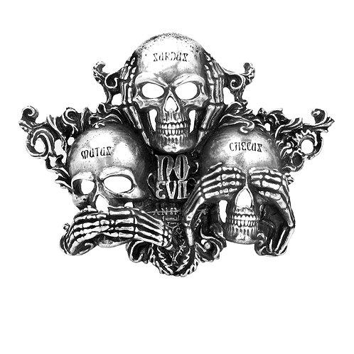 Alchemy No Evil Belt Buckle