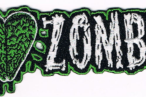 I Love Zombies Patch