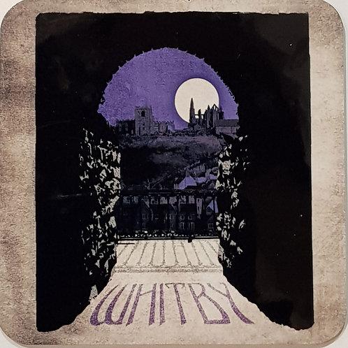 Whitby Coaster Purple