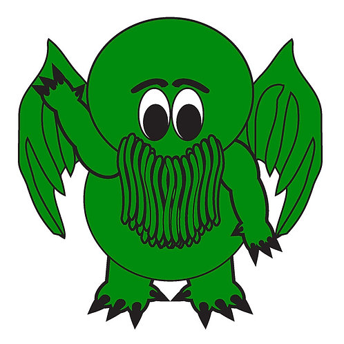 75 Cthulu Window Sticker