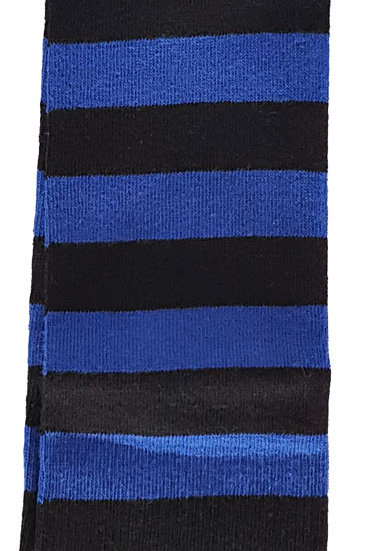 Over The Knee Socks Black And Blue
