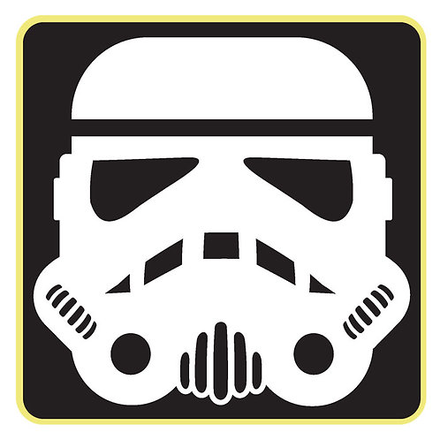 110 Stormtrooper Window Sticker