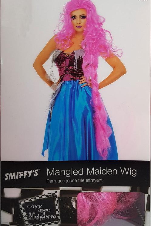 Mangled Maiden Pink Wig
