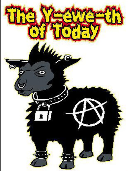 SH09 The Y-ewe-th Of Today Window Sticker