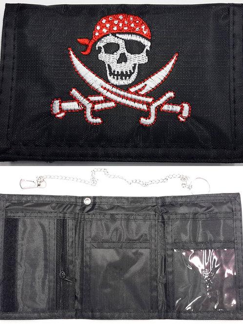 Wallet Skull And Cutlasses