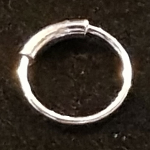 Nose Ring Silver 8mm