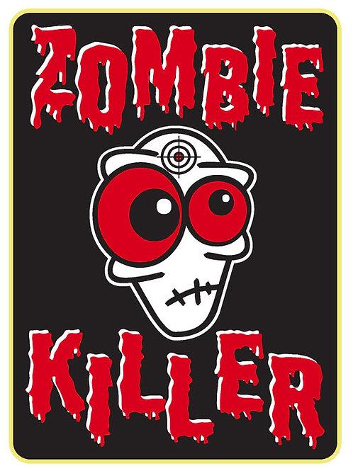 119 Zombie Killer Window Sticker