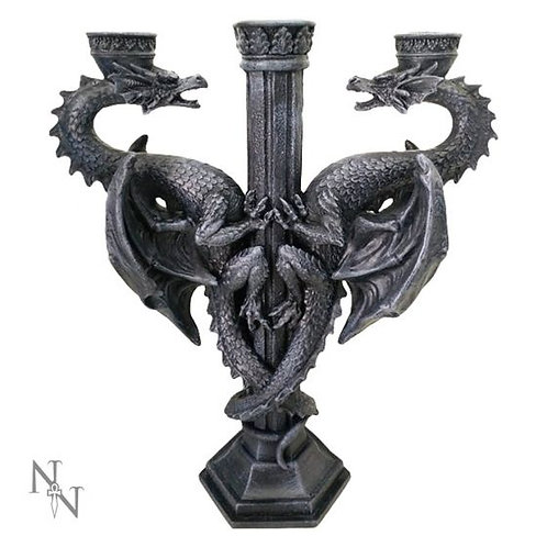 Nemesis Dragon's Alter Candleabra