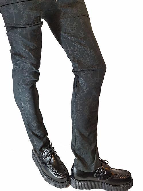Dagger Print Trousers