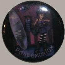 Button Badge Pandemonium
