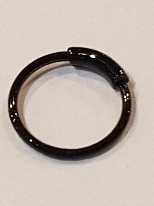 Nose Ring Black 10mm