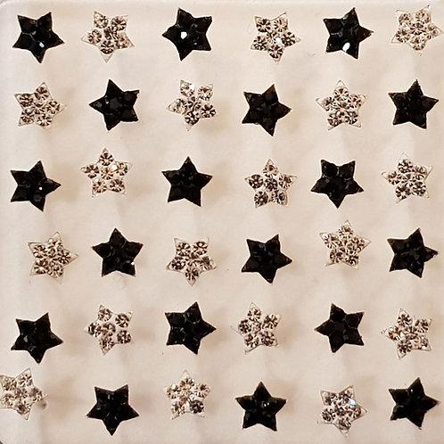 Star Studs (1 Pair)