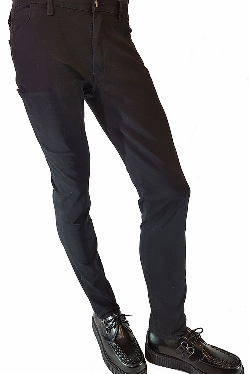 Jeans Plain Black