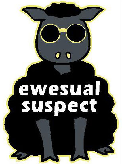 SH10 Ewesual Suspect Window Sticker