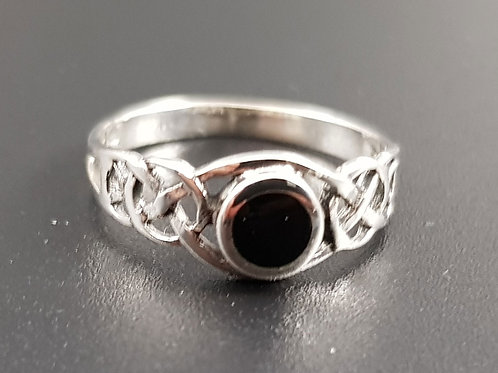 Celtic Stoned Ring
