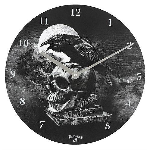 Alchemy Poe's Raven Clock