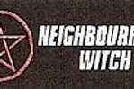 PWD07 Neighbourhood Witch (Pentacle) Window Sticker