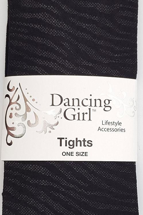 Dancing Girl African Zebra Tights