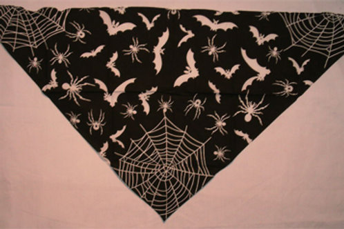 Triangular Bandana Bats And Spiders