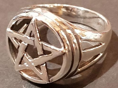 Large Pentacle Ring