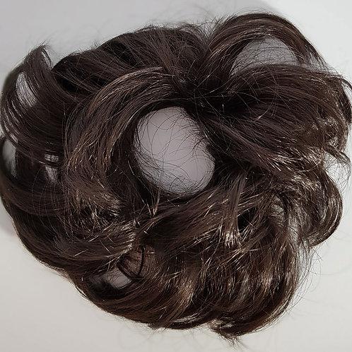 Hair Poufe Midnight Brown