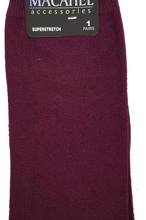 Mens Purple Socks 6-11