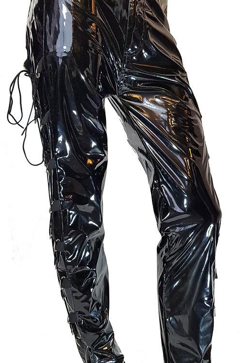 Gloss PVC D Ring Jeans